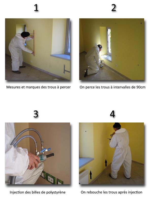 injection de billes eveno isolation. Black Bedroom Furniture Sets. Home Design Ideas