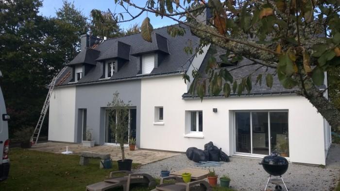 R novation d 39 une maison cl guer eveno isolation for Chiffrer des travaux de renovation